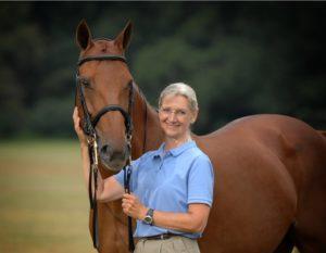 Dr. Carla Pasteur & Horse Ami